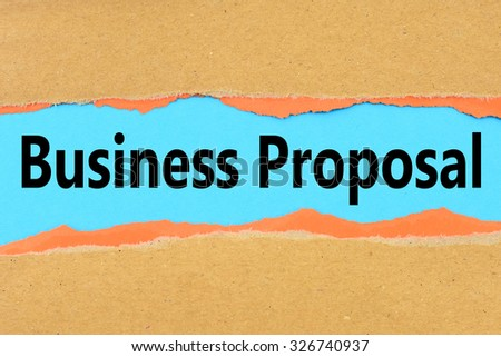 business proposals