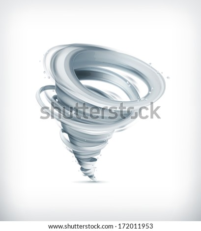 Tornado, bitmap copy - stock photo