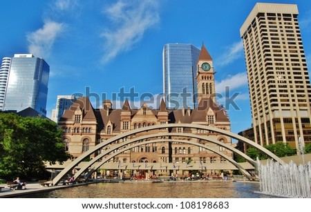 Toronto City Hall, Canada - stock photo