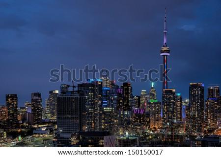 Toronto Downtown, Ontario, Canada - stock photo