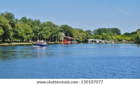 Toronto Islands Waterfront , Canada - stock photo