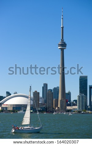 Toronto Postcard - stock photo