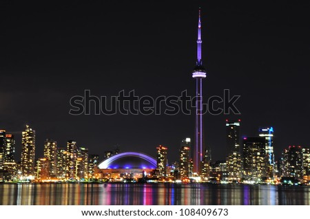 Toronto Skyline - stock photo