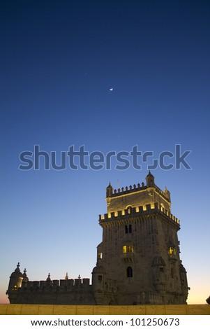 Torre de Belém, Lisbon - stock photo