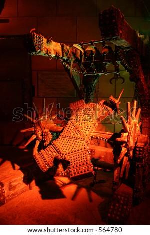Torture rack - stock photo