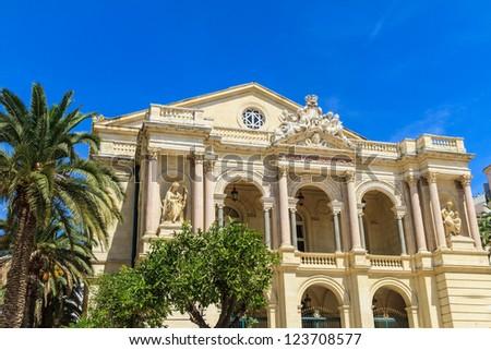 Toulon Opera House, Provence, France - stock photo