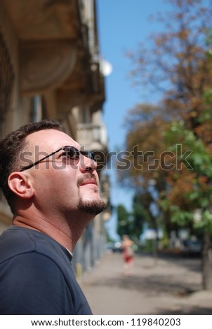 Tourist - stock photo