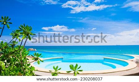 Tourist Dream Romantic Villa  - stock photo