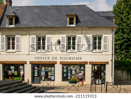 Tourist office in France - stock photo