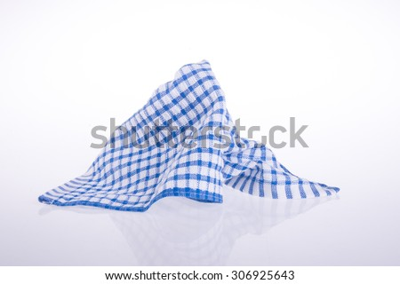 towel. Kitchen towel on the background - stock photo