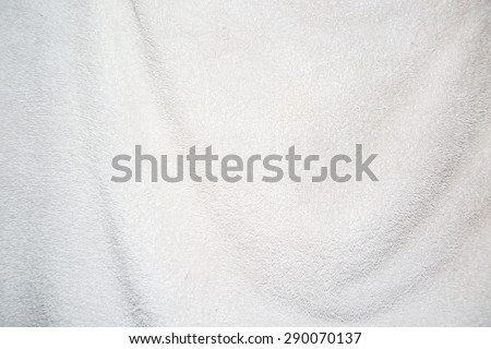 towel texture background - stock photo