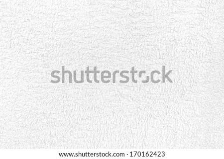 Towel texture. Vintage white towel texture. - stock photo
