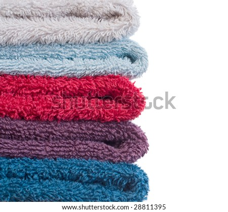 towels - stock photo