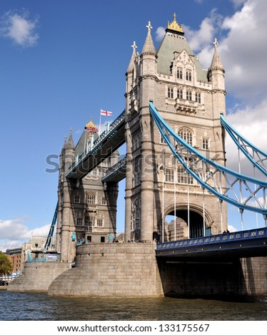 Tower Bridge, London, England - stock photo