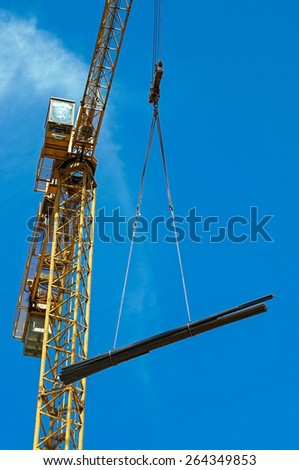 Tower crane - stock photo