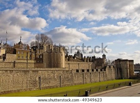 Tower London - stock photo