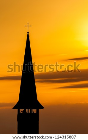 Tower of GOD - stock photo