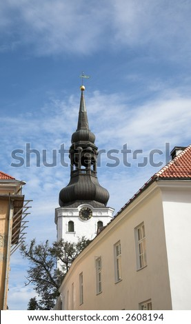 Tower Tallinn Estonia - stock photo