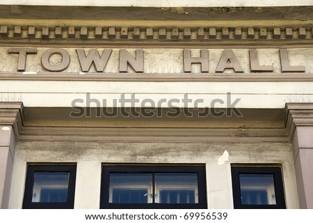 Town Hall - stock photo