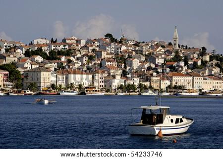 Town Mali Losinj, Croatia - stock photo
