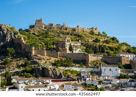 Town of Moclin, Granada (Spain) - stock photo