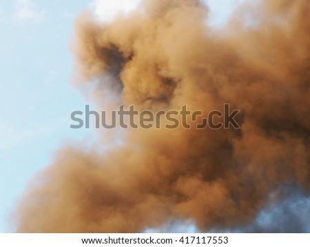 Toxic cloud  - stock photo