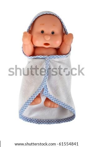 Toy baby - stock photo