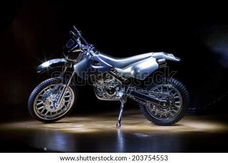 toy motorcycle - stock photo