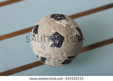 toy soccer ball - stock photo