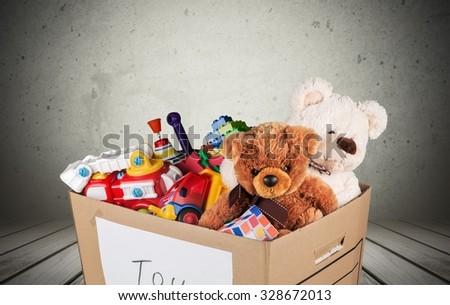 Toys. - stock photo