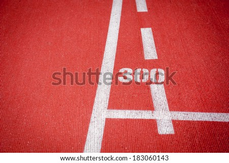 Track and field - stock photo