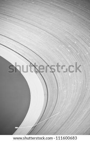 Track at Velodrome - stock photo