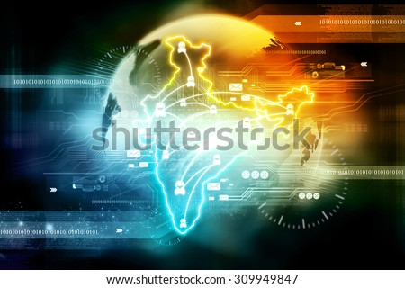 Trade networking  - stock photo