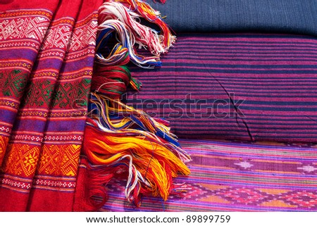 Tradition Cloth - stock photo