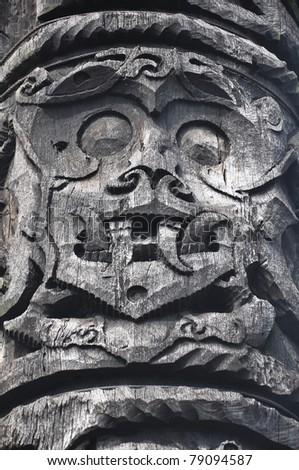 Tradition Sarawak Art Sculture - stock photo