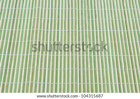 Traditional bamboo mat texture - stock photo