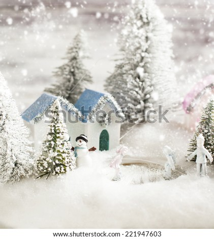 Traditional Christmas toy  - stock photo