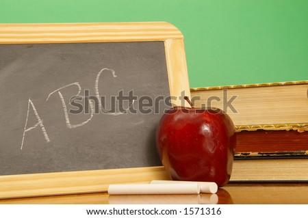 Traditional education symbols. - stock photo