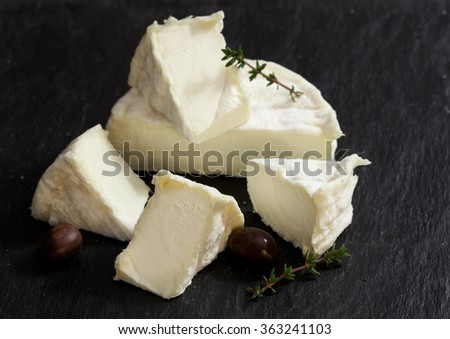 Traditional french cheese - stock photo