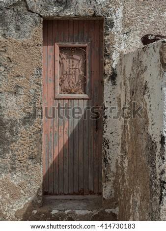 Traditional greek village, Oia, Santorini - stock photo