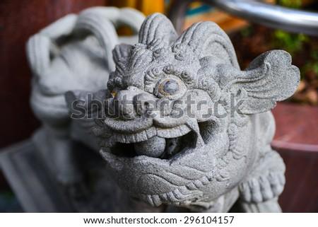 Traditional Hundu temple in republic of Singapore - stock photo