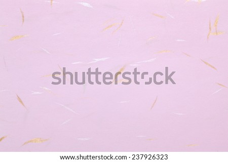 Traditional Japanese handmade paper, texture background - stock photo