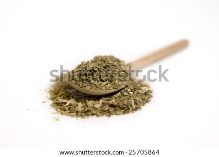 Traditional South American herbal drink - stock photo