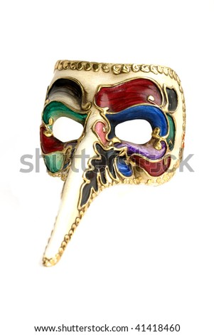 traditional venice mask - stock photo
