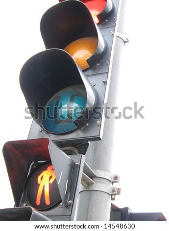 traffic light - stock photo