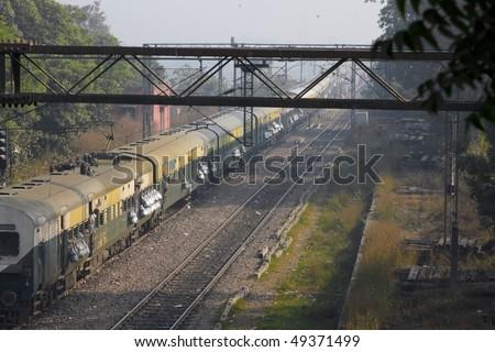 Train in Asia - stock photo
