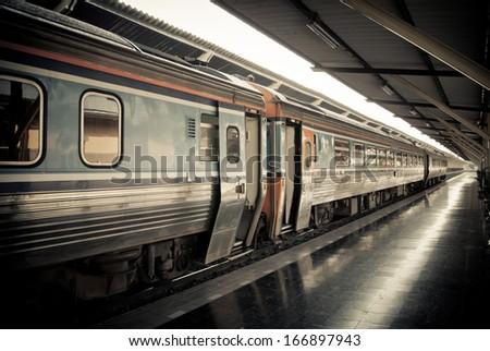 Train Vintage - stock photo