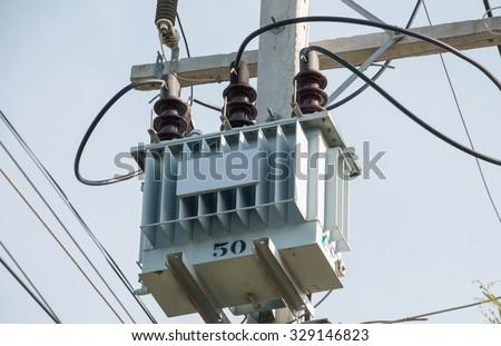 Transformer - stock photo