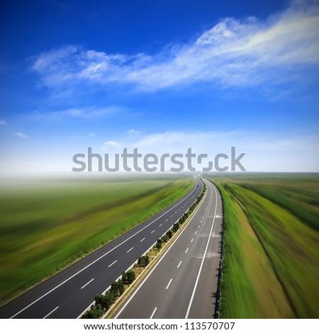Transport Highway - stock photo