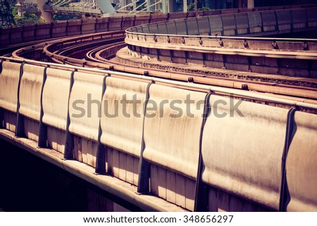 Transportation railway - stock photo